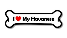 I Love My Havanese  Precision Cut Decal - $2.47+