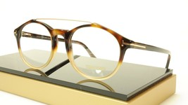 Tom Ford Authentic Eyeglasses Frame TF5455 056 Havana Italy Made  52-20-145 - $180.37