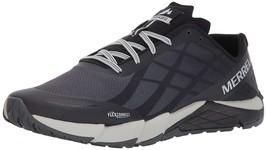 Merrell Men's Bare Access Flex Trail Runner J09657, Black/Silver Size 10... - $65.41