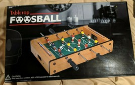 "Tabletop Foosball 19.1"" X 12"" X 3.5""  Adult Use Only Not A Toy - $15.00"