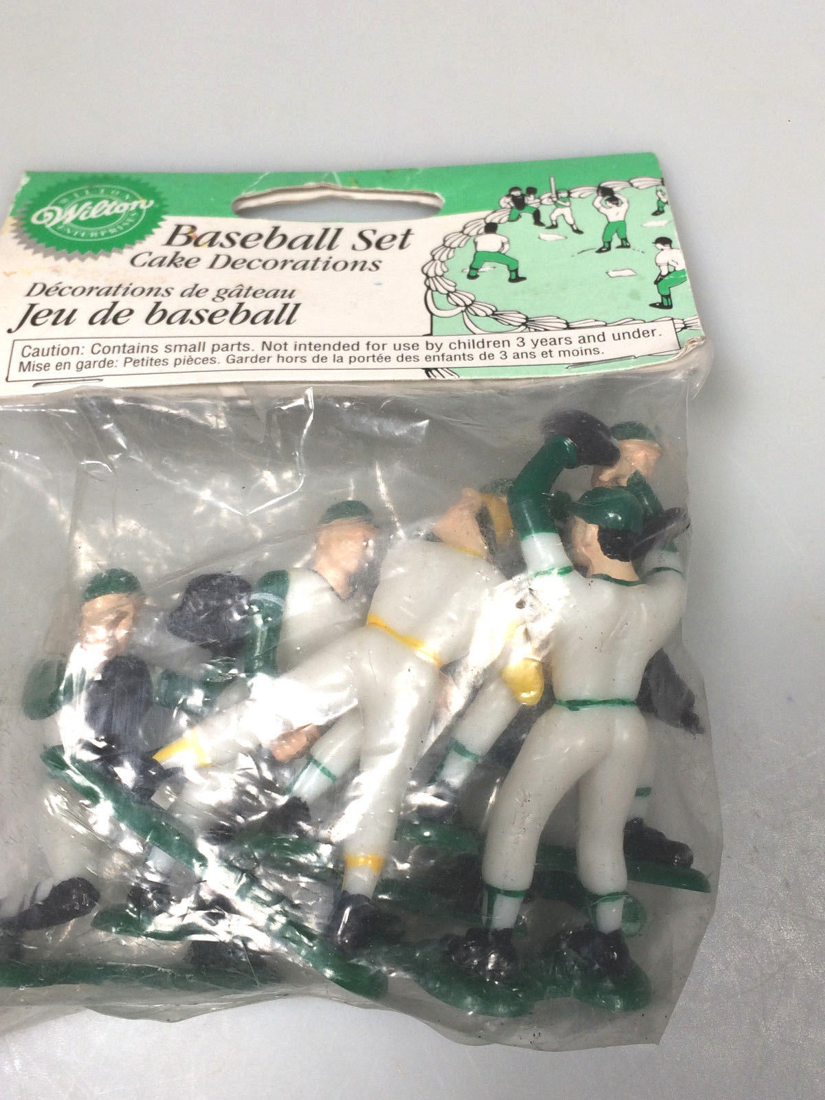 Wilton Baseball Players Cake Toppers End Of And 50 Similar Items