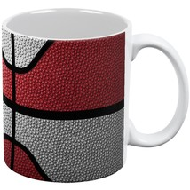 Championship Basketball Red & White All Over Coffee Mug - $16.95
