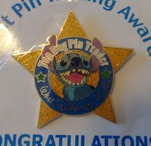 Top Dog Stitch Star Pin Trader Disney Cast Exclusive Trading Award WDW Pin - $45.99