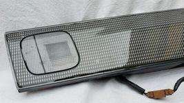 98-99 Nissan Sentra B14 Tail Light Center Reflector Panel Carbon Fiber Look image 3