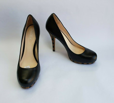 Coach Shoes Pumps Heels Black Monogram Platform Alexa Womens Size 8 B - $79.15