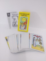 GIANT The Original Rider Waite Tarot Pack Set Smith Deck Cards Instructi... - $23.53