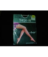 Vintage Murphy's Sexy Nylon Thigh Hi Stockings Coffee Color Size Small 8... - $12.00