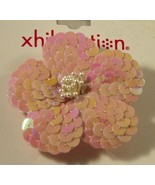 Xhilaration Pink Sequined Flower Pin or Hair Ornament NWT - $5.00