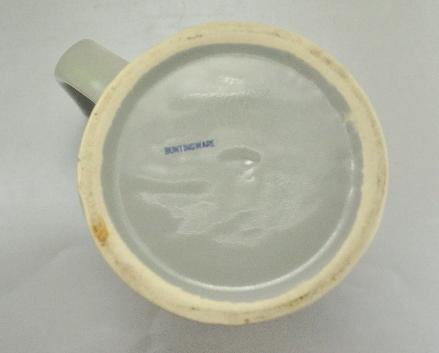 US Bicentennial Liberty Bell Buntingware Grey Coffee Mug Cup