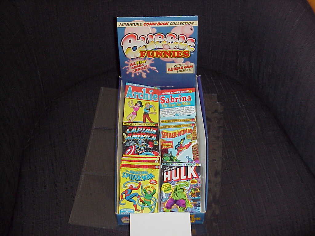 Bubble Funnies  Minature Comic Book Collection  1981