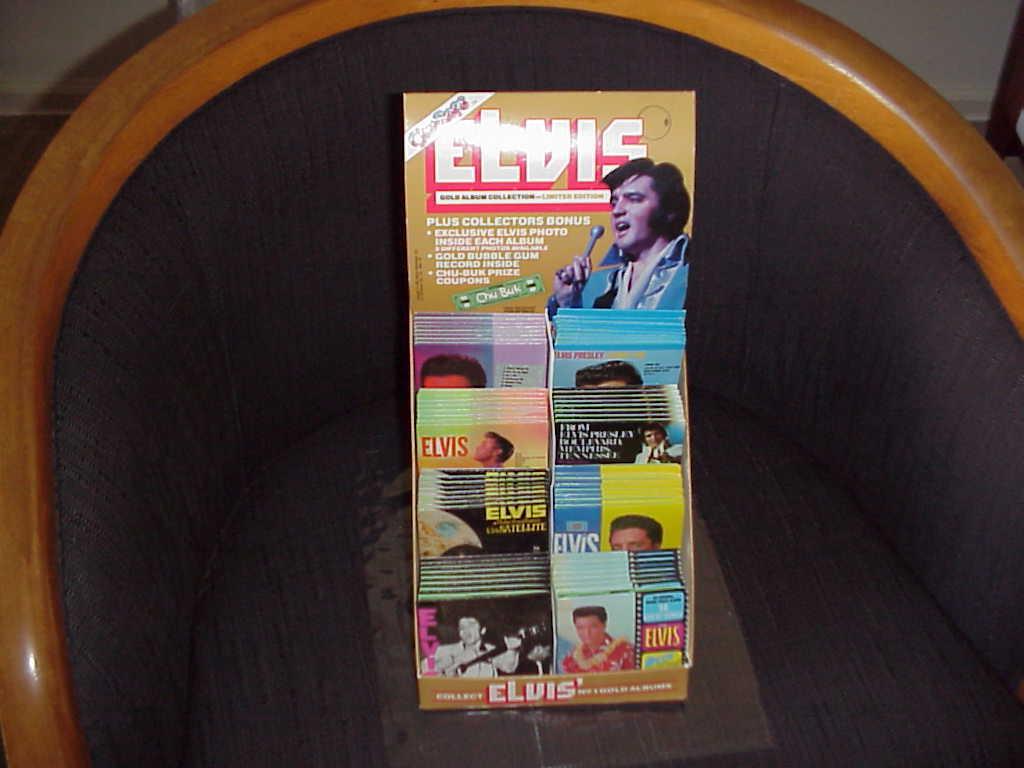Elvis  , Minature Album Covers  , Chu-Bops 1981