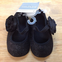 First Impressions Baby Girl Shoes, Back, Size 3 (6-9)M - $10.88