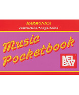 Harmonica Pocketbook/Instruction Book and Songs/OOP - $1.25