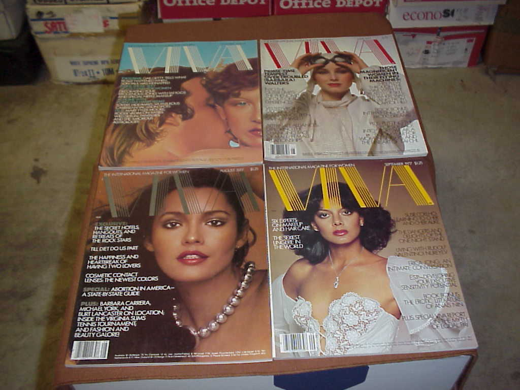 Adult Collector Magazines (Lot of 10 Different)