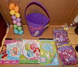 Easter Mix Lot 7 Items Basket Disney Princess Tattoo Grass & Eggs  Stickers 163Q - $12.49