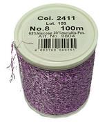 Madeira Fil de Machine à Coudre Violet Blanc 98042411 - $8.96