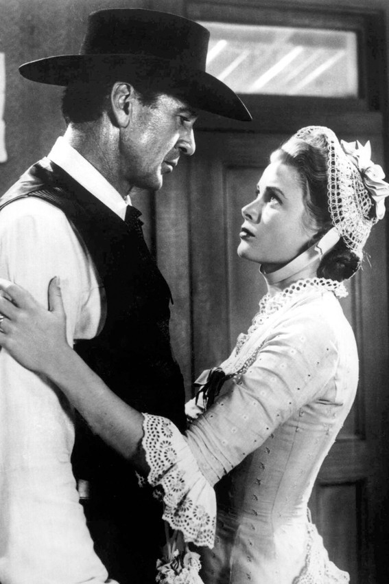 Primary image for Gary Cooper and Grace Kelly in High Noon 18x24 Poster