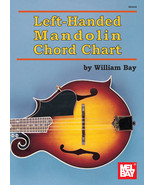 Mandolin Chord Chart For left Handed Players/New - $4.25