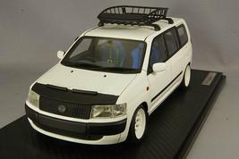 ignition model 1/18 IG1646 Toyota Probox GL NCP51V White Roof Rack Nose Bra New - $416.90