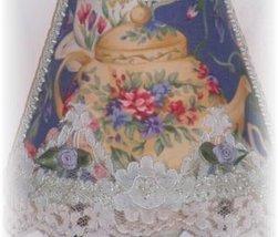 New! Blue Floral Elegant Teapot Night Light Dining/Kit - $17.99