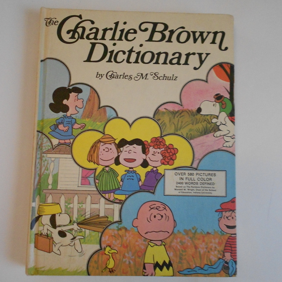 Primary image for The Charlie Brown Dictionary by Charles Schulz Hardback
