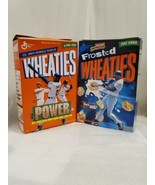 BASEBALL POWER HITTERS 1999 WHEATIES BOX 2 DIFFERENT COLLECTIBLE CEREAL ... - $9.89
