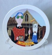 "Hallmark Maxine American Grumpy Collectible Dessert Plate Old Lady 7.5"" - $9.95"