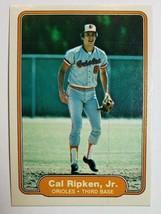 1982 FLEER #176 CAL RIPKEN JR. ROOKIE RC ORIOLES HOF - PACK FRESH - NM or + - $13.85