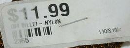 Unbranded Nylon Off Billet Twelve Hole Brown Color 2365 image 4