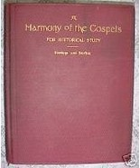 A Harmony of the Gospels for Historical Study. An Analy - $9.49