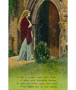 A Closer Walk With God Vintage Post Card - $5.00