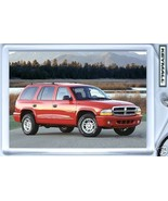 KEY CHAIN 1998/1999~2003/2004 RED DODGE DURANGO NEW KEYTAG - $9.95