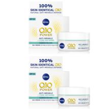 2 Nivea Q10 Plus Anti-Wrinkle Pore Refining Day Cream 50 ml/ 1.7 oz - $64.00