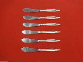 "Sentimental by Oneida Sterling Silver Trout Knife Set 6pc. HHWS  Custom 7 1/2"" - $366.80"