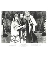 Gary Lockwood and Anne Helm The Magic Sword Movie Dual Autographed 8 x 1... - $77.29