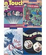 (4) BOOKS ON LITERACY,COMMUNICATION,MATH FOR GRADES 3-6 - $44.99