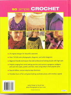 So Simple Crochet  A Collection of 24 Fashionable & Fun Design Melody Griffiths