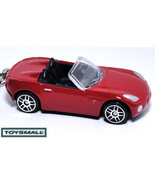 HTF KEY CHAIN 2006/2010 RED PONTIAC SOLSTICE/SKY NEW FASHION - $35.97