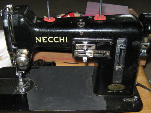 Vintage Necchi BU Foot Bar Assembly