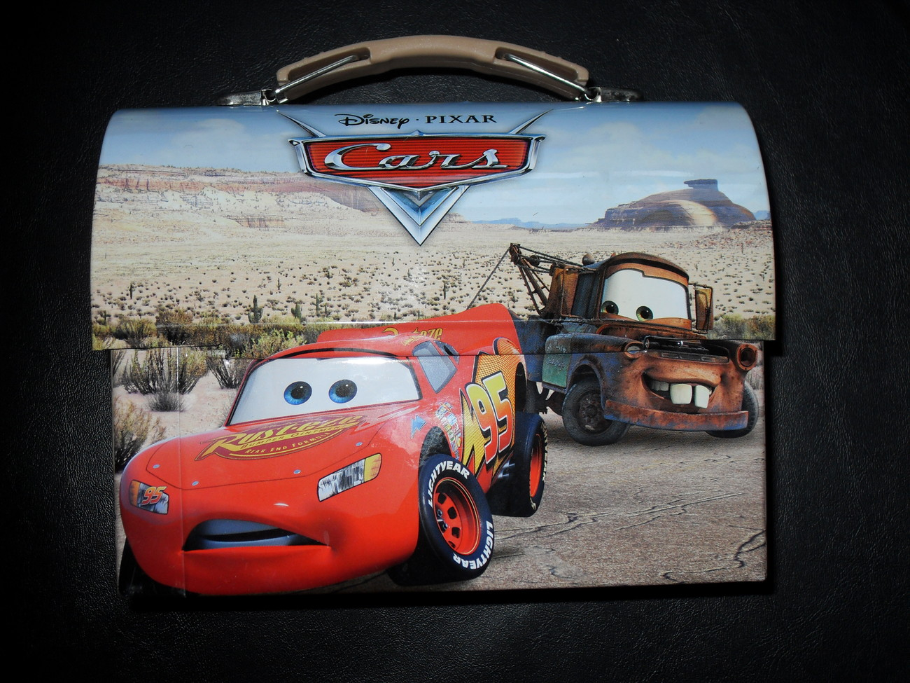Disney Pixar Cars Tin Box