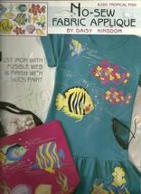 No Sew Applique Fashion Art / Tropical Fish - $3.50