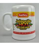 Nalley Jalapeno HOT Chili Con Carne Coffee Mug Cup Stein 14 Ounce - $8.99