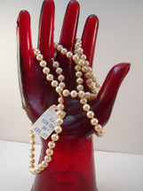 Vendome classic hand knotted pearl necklace. - $30.00