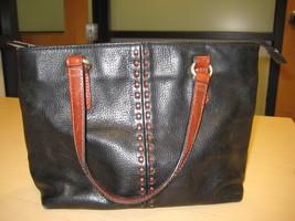 Fossil Leather Satchel Handbag - $30.00