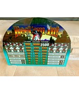 "1995 Reel'em In Bass Fishing Las Vegas Slot Machine Glass 20""x15"" - $69.25"