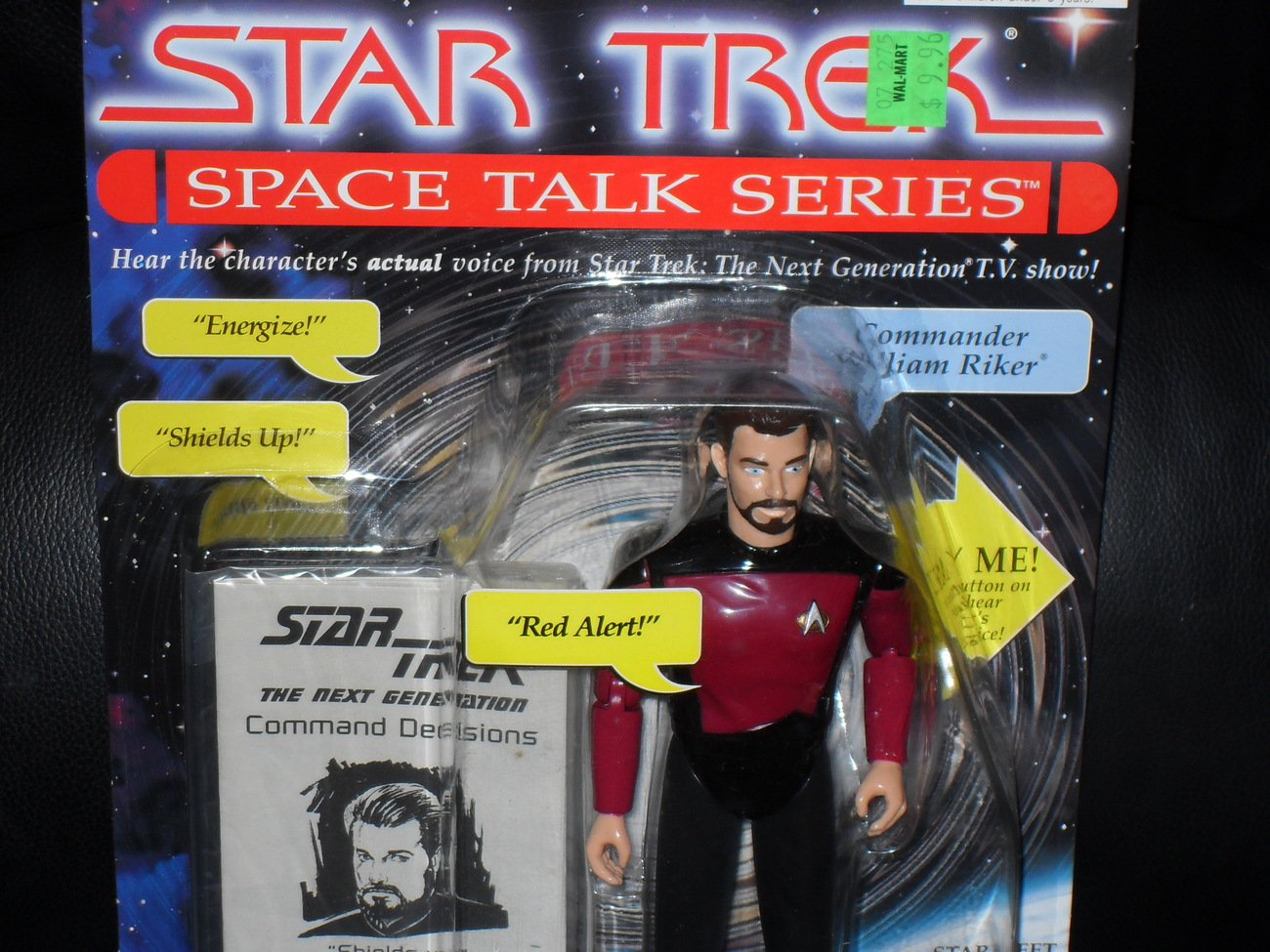 1995 Star Trek  Space Talk Series  William Riker In Package