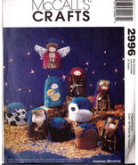 McCall's Crafts 2996 Nativity Scene Ornament Wall Hanging Pattern - $16.99