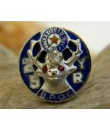 Vintage Elk BPOE 25 Yr Enamel Lapel Pin Membership Fraternal - $14.95