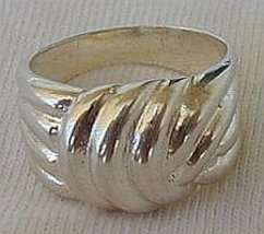 Shiny silver ring - $20.00
