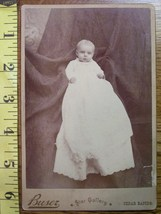 Cabinet Card Cute Baby Boy Dress & Hidden Mom! c.1866-80 - $5.60